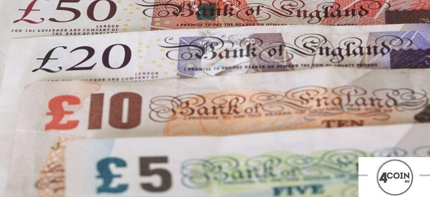 Банк Англии, номиналі купюр