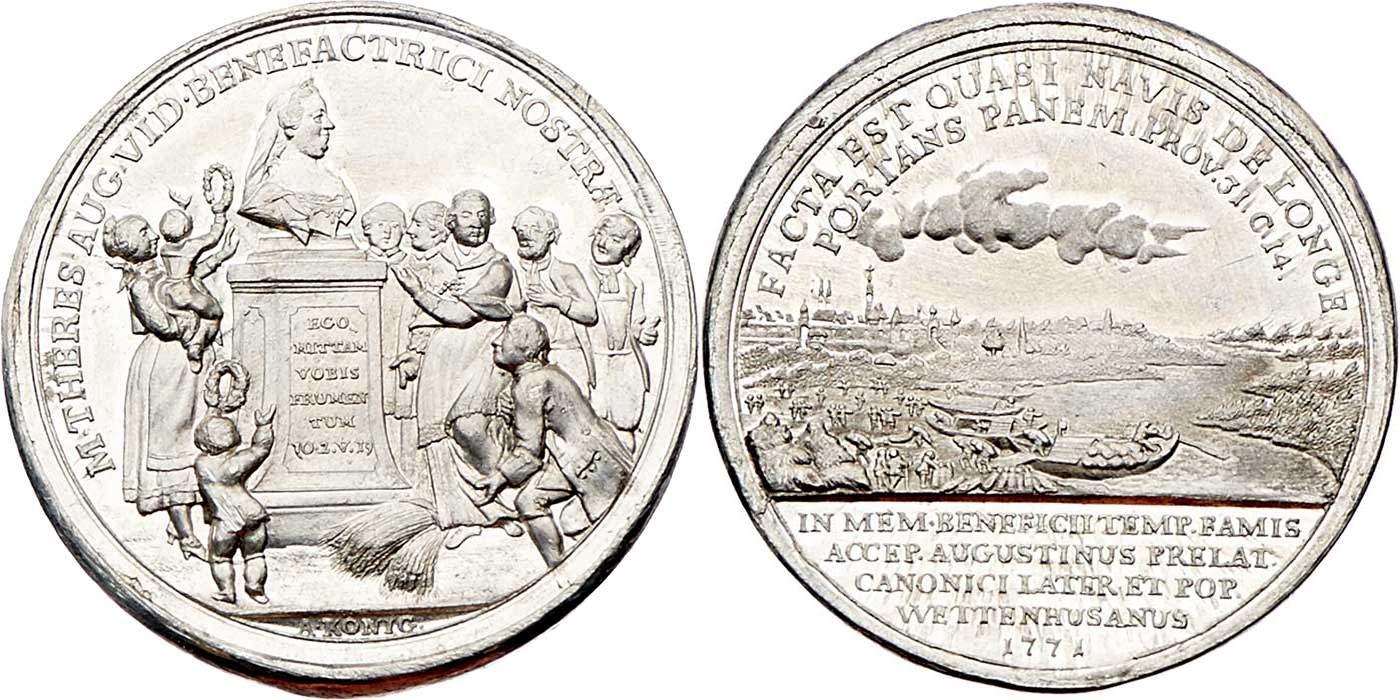 Старинная монета 17 века